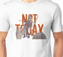 What do we say to death? Unisex T-Shirt
