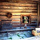 Woman Weaving in Estonia by robert cabrera