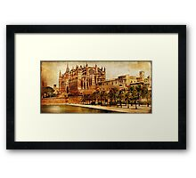 Grand Cathedral - Vintage Framed Print