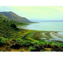 Lake Abert, SE Oregon Photographic Print