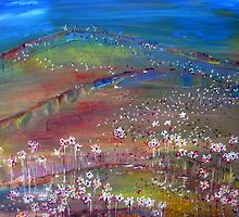 All the fields are cheerful, all the birds are singing! by Elizabeth Kendall