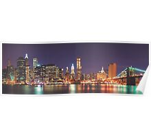 Dawn in the Big Apple Poster