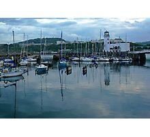 Boats On Stilts Photographic Print