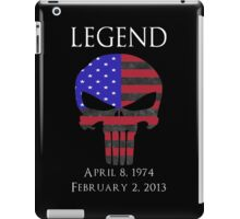 RIP Chris Kyle iPad Case/Skin