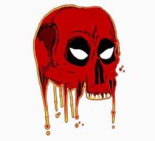 Evil comic bleeding skull Unisex T-Shirt