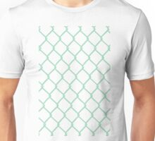 Chain Link on Mint Unisex T-Shirt