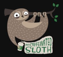 Caffeinated Sloth One Piece - Short Sleeve