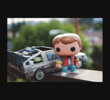 Marty Mcfly Delorean Kids Clothes