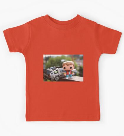 Marty Mcfly Delorean Kids Tee