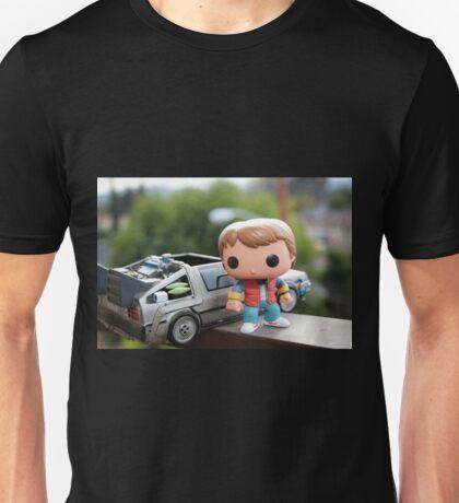 Marty Mcfly Delorean Unisex T-Shirt