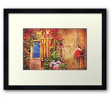 Outdoor Still Life - Vintage Framed Print