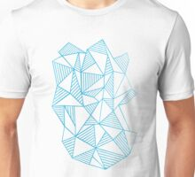 Abstraction Lines Watercolour Unisex T-Shirt