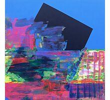 BLUE BOX Photographic Print