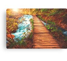 Sojourn Through Serenity Canvas Print