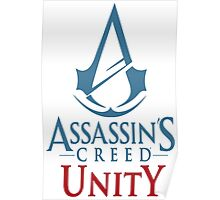 Assassins Creed Unity Logo Poster