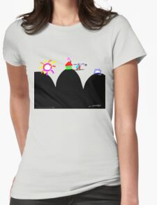 Who Could Ask for More? Womens Fitted T-Shirt