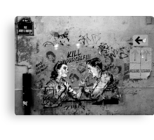 Paris Graffiti XX Canvas Print