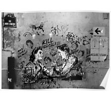 Paris Graffiti XX Poster