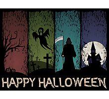 Happy Halloween - 4 Panels Photographic Print