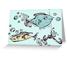 Fish For Gary Greeting Card