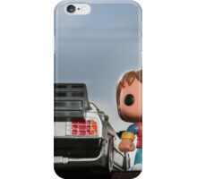 Outatime with Marty McFly iPhone Case/Skin