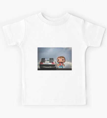 Outatime with Marty McFly Kids Tee