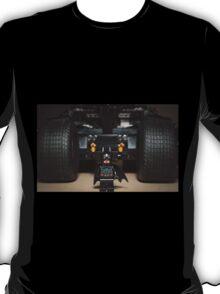 Batman Stare with Tumbler T-Shirt