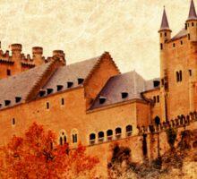 Alcazar de Segovia - Vintage Sticker