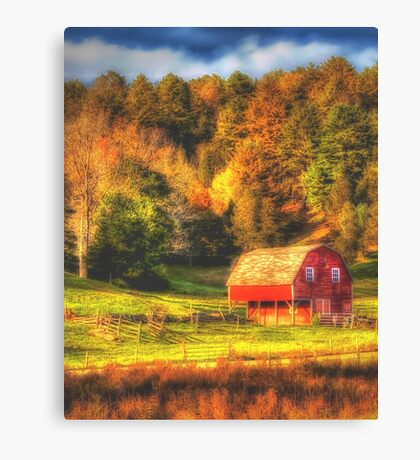 Late Summer Barn Canvas Print