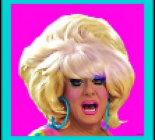 "Drag Diva ""Lady Bunny"" By HRHSF In Pixels  by HRHSF"