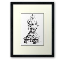 Tortoise Travel Framed Print