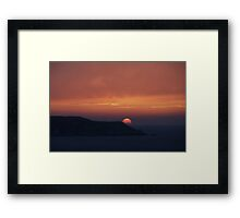 Atlantic Sunset Framed Print