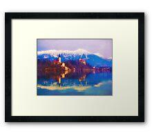 Bled Island Framed Print
