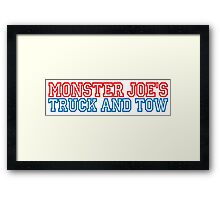 Pulp Fiction - Monster Joe's Truck and Tow Framed Print