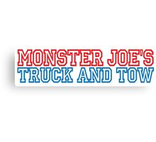 Pulp Fiction - Monster Joe's Truck and Tow Canvas Print