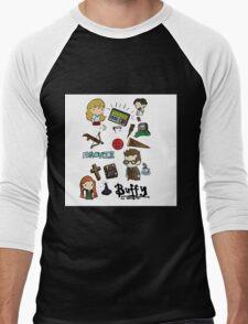 buffy etc. Men's Baseball ¾ T-Shirt