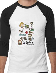 buffy etc. Men's Baseball ¾ T-Shirt