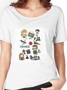 buffy etc. Women's Relaxed Fit T-Shirt