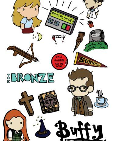 buffy etc. Sticker
