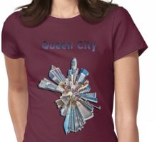 queen city Womens Fitted T-Shirt