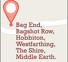 If Middle Earth Had GPS by sisterphipps