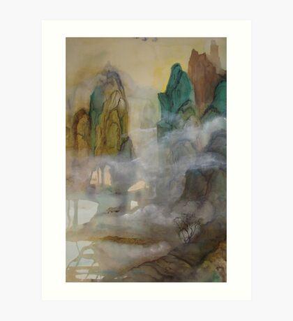 China Mountains - No.1 Art Print