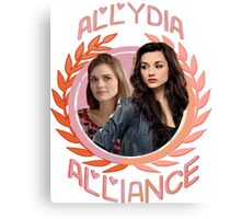 Allydia Alliance [The Hunter & The Banshee] Canvas Print