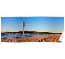 Maroubra beach surfers Poster