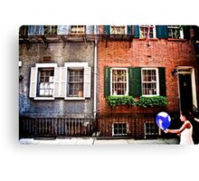 Greenwich Girl  Canvas Print