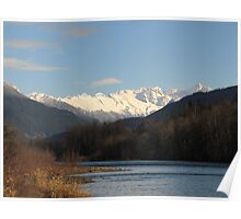 North Cascades and the Skagit River Poster