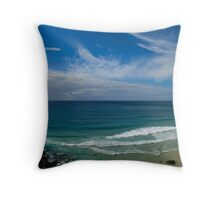 Tweed Heads - Surfers Throw Pillow
