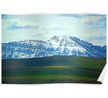 """Rocky Mountains,  Willow Creek,  Alberta, Canada"" Poster"