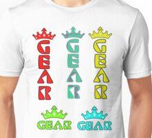 Gear Glass Horizontal Vertical Design Unisex T-Shirt