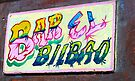 Hand painted Bar sign, Havana, Cuba by David Carton